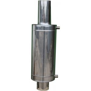Бак теплообменник 12 л на трубе ф 110 мм