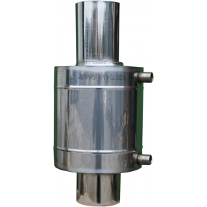 Бак теплообменник 6 л на трубе ф 110 мм
