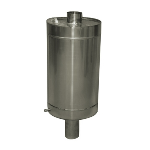 Бак круглый 81 л на трубе ф110 мм