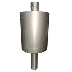 Бак круглый 57 л на трубе ф110 мм