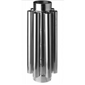 Труба конвектор дымохода ф115 (0,8/430)
