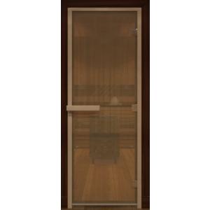 Дверь стеклянная Бронза матовая 1900х700мм