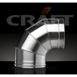 Craft Сэндвич отвод 90 Ф115х200 (0,8/316)