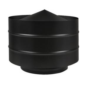 Дефлектор Везувий black ф115 (0,5/430)