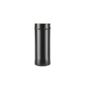Сэндвич-труба Везувий black 0,5 метра ф115х200 (0,8/430)