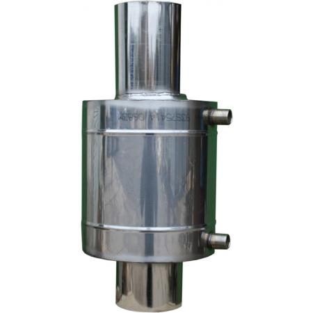 Бак теплообменник 6 л на трубе ф 120 мм