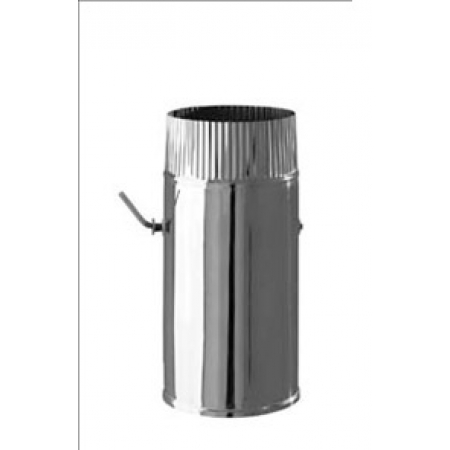 Шибер нержавейка ф120 мм (0,5/430)