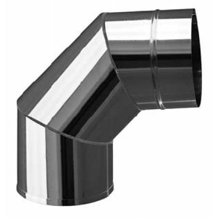 Отвод нержавейка ф120 мм (0,8/430)