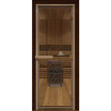 Дверь стеклянная Бронза