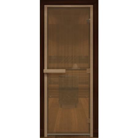 Дверь стеклянная Бронза матовая
