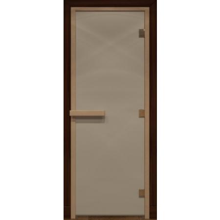 Дверь стеклянная Сатин матовая