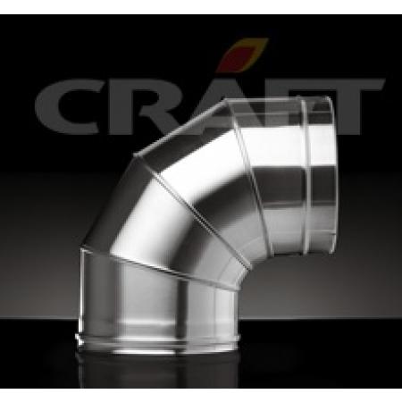 Craft Сэндвич отвод 90 Ф150х250 (0,8/316)