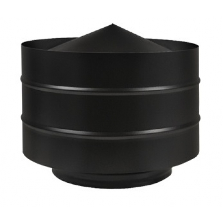 Дефлектор Везувий black ф120 (0,5/430)