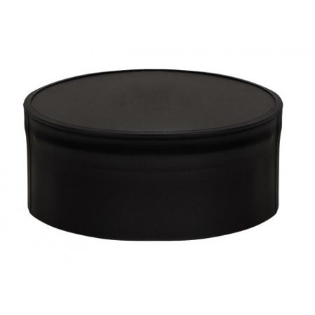 Заглушка глухая Везувий black ф200 (0,5/430)