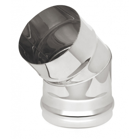 Везувий колено 45 ф120 мм (0,8/304)