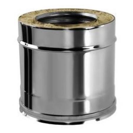 Вулкан Сэндвич труба 0,25 метра ф120х220 мм (0,5/321)