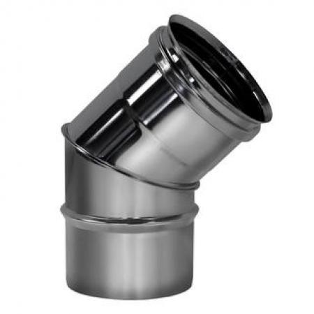 Вулкан полуотвод 45  ф200 мм (0,5/304)