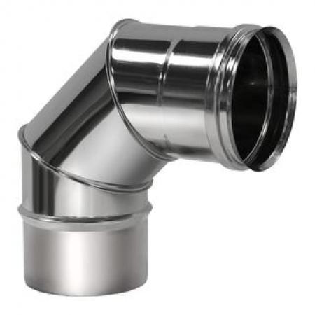 Вулкан отвод 90  ф180 мм (0,5/304)